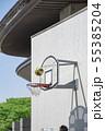 【バスケット ゴール】 55385204