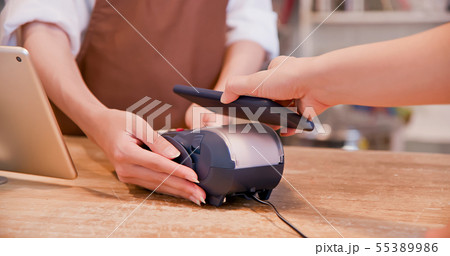 mobile payment concept 55389986