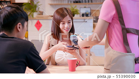 mobile payment concept 55390030