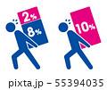 日本の消費税増税10% 55394035