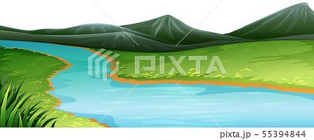 Natural environment lanscape scene 55394844