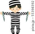 ハロウィンキッズ 囚人 55398392