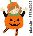 ハロウィンキッズ かぼちゃ 55398395