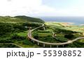 久米島のてぃーだ橋・つむぎ橋のドローン映像 55398852