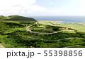 久米島のてぃーだ橋・つむぎ橋のドローン映像 55398856