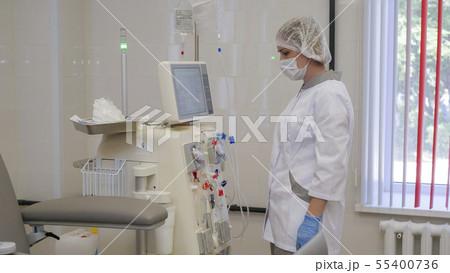 Hemodialysis, artificial kidney apparatus. Saving 55400736