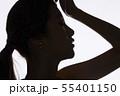 女性 シルエット 55401150