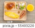 朝食プレート 55403220