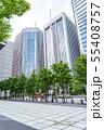 【東京都】丸の内の街並み 55408757