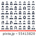 Simple avatar icons 55413820