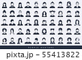 Simple avatar icons 55413822