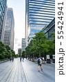 【東京都】丸の内 オフィス街の風景 55424941