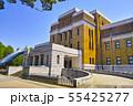 新緑の東京都上野公園内にある東京国立科学博物館 55425277