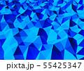 抽象的な背景 三角形  55425347