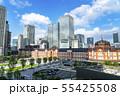 【東京都】東京駅 駅前風景 55425508