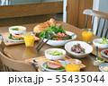 朝の食卓 料理 55435044