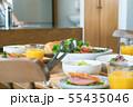朝の食卓 料理 55435046