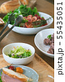 朝の食卓 料理 55435051