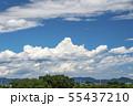 青空と雲 55437210