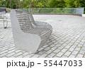 modern metal round garden bench 55447033
