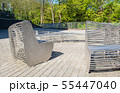 modern metal round garden bench 55447040