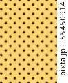 ひまわりのイラストの背景素材 55450914