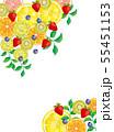 果物:水彩風 55451153