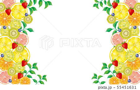水彩:果物 55451631