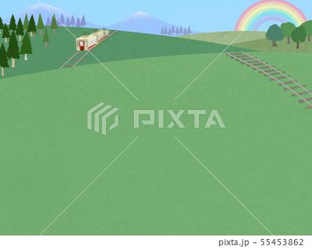 背景-空-虹-電車-風景 55453862