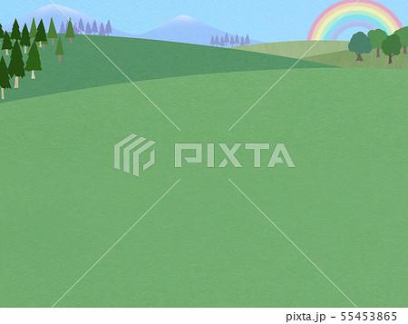 背景-空-虹-風景 55453865