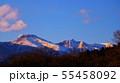 雪の残る那須連山 55458092