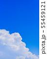 夏の清々しい青空 55459121