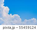夏の清々しい青空 55459124