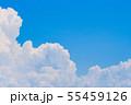 夏の清々しい青空 55459126