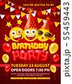 Happy Birthday Invitation Template 55459443