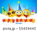 Happy Birthday Greeting Card 55459445