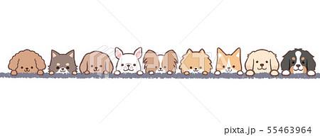 犬たちフレーム 55463964