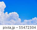 夏の清々しい青空 55472304