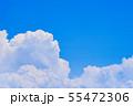 夏の清々しい青空 55472306