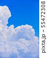 夏の清々しい青空 55472308