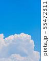夏の清々しい青空 55472311