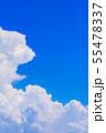 夏の清々しい青空 55478337