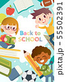 Back to school poster graphic templates 55502391