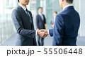 握手 ビジネスマン ビジネスの写真 55506448
