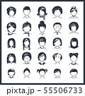 Simple avatar icons 55506733