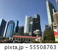 シンガポールのビル群1 55508763