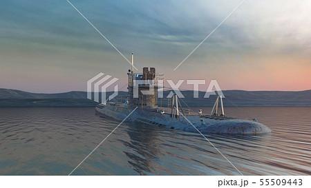 潜水艦 55509443