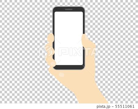 Smartphone in hand 55511061