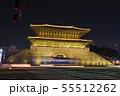 ソウル東大門の夜景 55512262