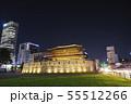 ソウル東大門の夜景 55512266